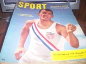 Sport Magazine 12/1956 Bobby Morrow Olympics