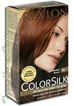 Treehousecollections: Revlon Colorsilk Light Reddish Brown #55 Hair Color