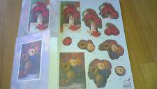 Decoupage Die Cut Floral Card Kits by Create & Craft