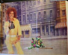 "Teenage Mutant Ninja Turtles Donatello & April O'Neil 27 x 36"" Poster Sticker"