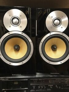 B&W BOWERS & WILKINS CM5, GLOSS BLACK, EXCELLENT WORKING CONDITION