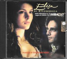 """SAVIO RICCARDI COLONNA SONORA SERIE TV """"ELISA DI RIVOMBROSA"""" 2004 PROMINTER RARO"""