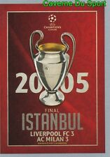 597  FINAL 2004-05 LIVERPOOL.FC VS AC.MILAN STICKER CHAMPIONS LEAGUE 2016 TOPPS