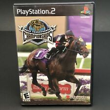 BREEDERS CUP WORLD THOROUGHBRED CHAMPIONSHIP SONY PLAYSTATION PS2 GAME COMPLETE