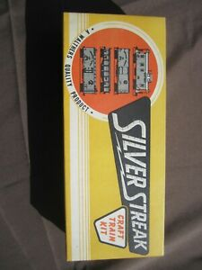 WALTHER HO SCALE SILVER STREAK CRAFT TRAIN KIT ENGINEERING CAR 803