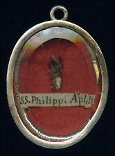 old relic theca S.PHILIPPI AP. 19Th.