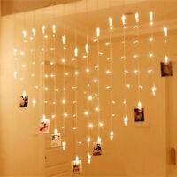 40 LED Photo Clip Fairy String LED Light Garland Wedding Party Home Decor AT