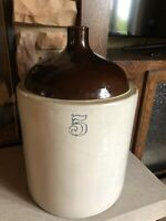Red Wing Pottery 5 Gallon Whiskey Jug Crock Large Antique Stoneware