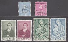 IRELAND STAMPS #145//154  --  (3) COMPLETE  SETS -- 1952 -- USED