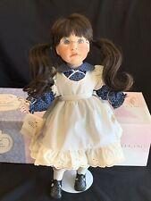 Lloyd & Lee Middleton Porcelain Doll Sincerity Forget Me Not Signed Lee 461/750