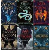 Leigh Bardugo Grisha and Six of Crows Series 6 Books Collection Set Language of