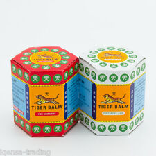2x 30g Red White Tiger Balm Relief Muscle Ache Pain Insect Bite Massage Ointment