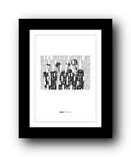 More details for blur for tomorrow  ❤  song lyrics typography poster art print