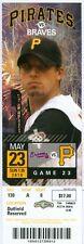2010 Pirates vs Braves Ticket: Ryan Doumit walk-off HR in 10th/Eric Hinske HR