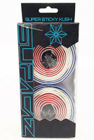 SUPACAZ SUPER STICKY KUSH COUNTRY FRANCE BICYCLE HANDLEBAR TAPE, RED/WHITE/BLUE