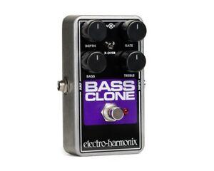 Electro-Harmonix Bass Clone Chorus Effect Pedal - Authorized Dealer NEW EHX