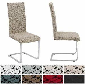 2er Set universal Stretch Stuhlhusse Marmor, elastische Husse Bi-Elastic