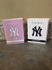 New York Yankees Eau De Parfum And Eau De Toilette .05 oz Samples