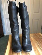 Frye Black Leather Knee Boots Style 77535 Women's 8.5B