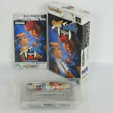 STREET FIGHTER ZERO 2 Super Famicom Nintendo 1543 sf