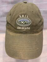 VAIL COLORADO Mountains Adjustable Adult Cap Hat