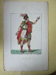 Vintage Engraving,WE SERVE A KING....1799,Robt.DIGHTON,1752-1814,Hand Colored