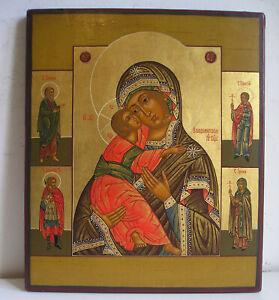 Madonna Vladimirskaja ICONA RUSSA Russian icon