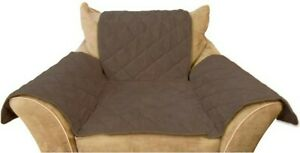 K&H Pet Dog Cat Furniture Chair Couch Cover Mocha Brown Microsuede  NEW