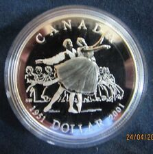 2001 Proof Silver Dollar- National Ballet of Canada