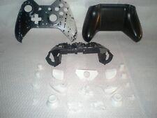 Custom Black & White Splatter Paint Xbox One Controller Shell Complete