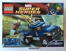 Lego Marvel Superheroes 6867 Loki's Cosmic Cube Escape New In Factory Sealed Box
