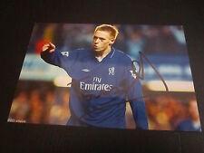 28021 Mikael Forssell FC Chelsea London original signiertes Autogrammfoto