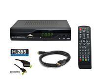 Décodeur TNT terrestre DVB-T2 Strom-505 H.265 HEVC