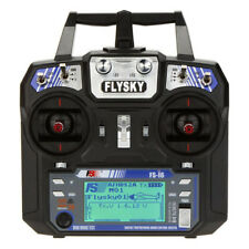 Flysky FS-i6 AFHDS 2A 2.4GHz 6CH Remote Control for Heli Glider +FS-iA6 Rec D5S6