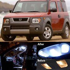 8Pcs White Interior LED Light Bulbs Lamp Package Kit For Honda Element 2003-2011