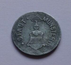 Notgeld: Germany, Münster i. Westf. 25 Pfennig 1917, War money, Emergency coin