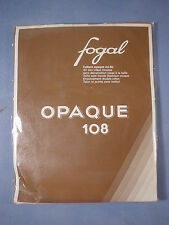 Fogal Style 108 Opaque Nylon Pantyhose Size Xtra Small in Menthe