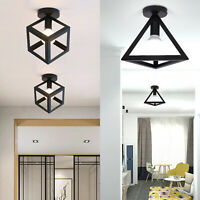 Ceiling Lamp Light Flush Mount Modern Industrial Cage Ceiling Light Hallway Lamp
