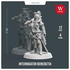 Interrogator Benedictia Artel W - Adepta Sororitas Sisters of Battle Inquisitor