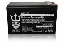 12V 8AH Replacement for GT12080-HG FiOS Power King Upg Systems Battery Neptune