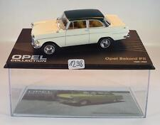 Opel Collection 1/43 Opel Rekord PII blanco 1960 - 1963 en láminas box #1298
