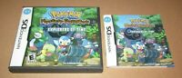 Pokemon Mystery Dungeon Explorers Of Time (Case & Manual Only) Nintendo DS