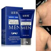 Men Permanent Hair Removal Cream Depilatory Paste for Body Leg Pubic Armpi Top