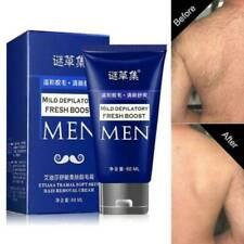 Men Permanent Hair Removal Cream Depilatory Paste for Body Leg Pubic Armpit UK