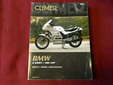 Clymer Service Repair Maintenance Manual for 1985-1997 Bmw K-Series Motorcycles