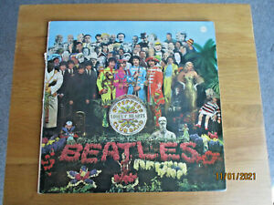 Sgt Peppers Lonely Hearts Club Band Vinyl LP 1967 with original price sticker