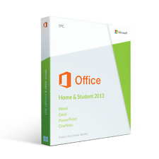 Microsoft Office Home & Student 2013 (DVD Edition) #New