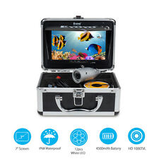 Eyoyo 50M/165ft HD 1000TVL Fish Finder Underwater Camera 7 Inch 12PCS LED Light