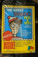 1991 Where's Waldo Sticker/ Card - Limited Edition Life Cereal 12 of 12 Sealed