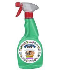 Fresh Pet Klein Haustier Käfig Spray Desinfektionsmittel - 500ml Eukalyptus